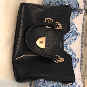 Michael kors black hand bag